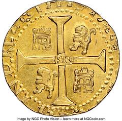 1786 Brasher Lima Doubloon reverse