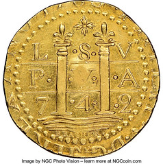 1786 Brasher Lima Doubloon obverse