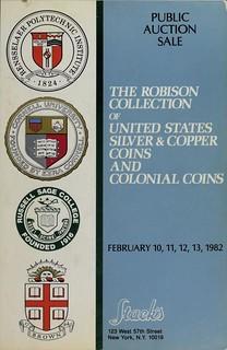 1982 Stacks Robison sale catalog cover