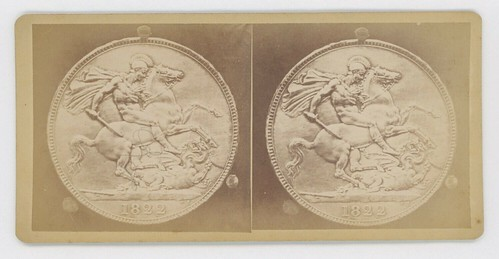 Stereoview Coin Photo