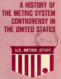 A history of the metric system controversy in the United States