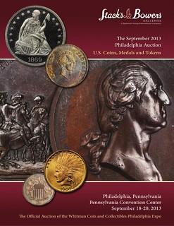 Stack's Bowers September 2013 Philadelphia Catalog cover
