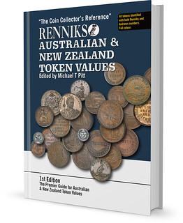 Renniks Australian and New Zealand token values book cover