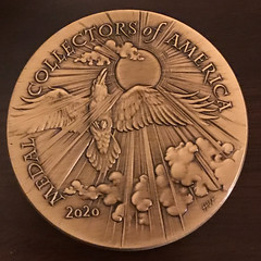 MCA Member Medal by Heidi Wastweet reverse