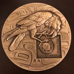 MCA Member Medal by Heidi Wastweet obverse
