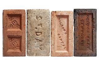 Collectible bricks