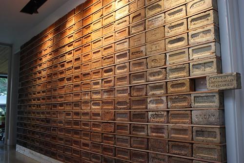 Brick Collection display