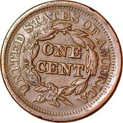 E.P. EVERETT Counterstamp on Large Cent reverse