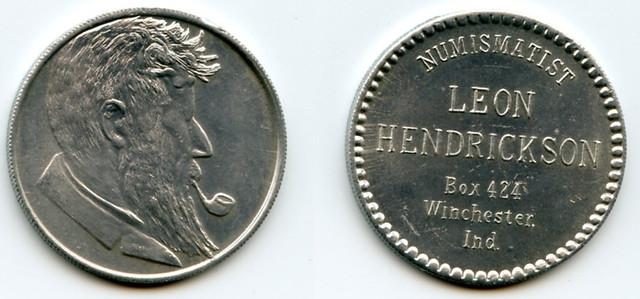 Leon Hendrickson personal token