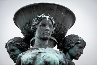 Audrey Munson posed for the  McMillan Memorial Fountain