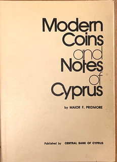Modern Coins and Notes of Cyprus