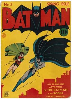 BAtman comic 10 cents