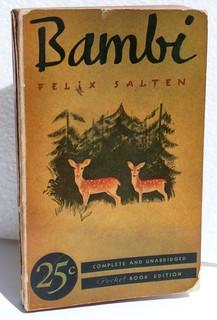 Bambi novel 25 cents