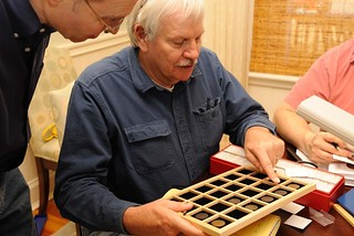 Syd Martin with coin tray