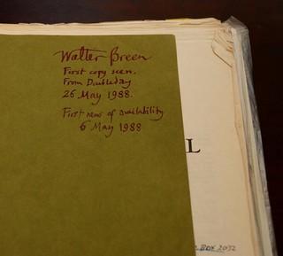 Breen's Breen's Encyclopedia inscription