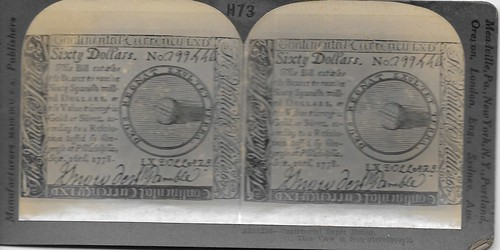 Stereoview - Continental Currency (2)