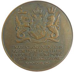 Churchill Navy Medal reverse