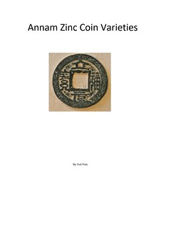 Annam Zinc Coin Varieties book cover