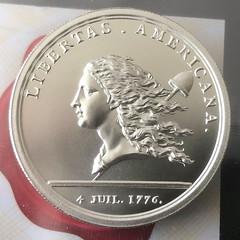 Libertas Americana obverse regular silver 2 oz