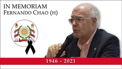 IN MEMORIAM Fernando Chao