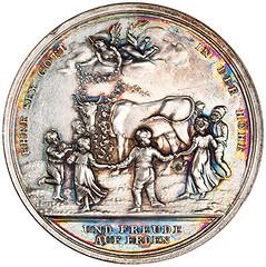 Edward Jenner silver medal reverse