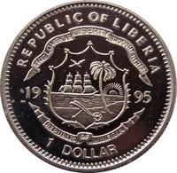Liberia Churchill dollar