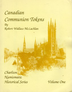 Canadian Communion Tokens Charleton cover