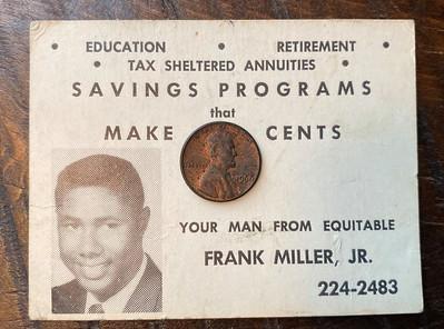 Frank Miller Jr Savings Programs That Make Cents