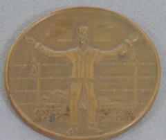 1955 Belgium Holocaust Survivor Medal obverse