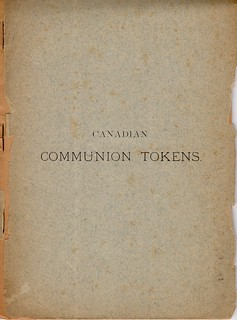 Canadian Communion Tokens cover