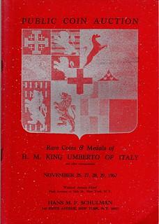 Schulman 1967-11 sale cover