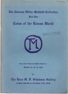 Schulman 1969-10 sale cover
