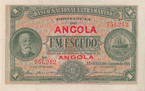 1921 Angola 1 Escudo