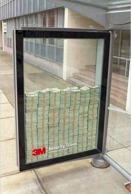 3 Million Dollars Behind Glass