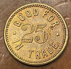 The New Harlem trade token reverse