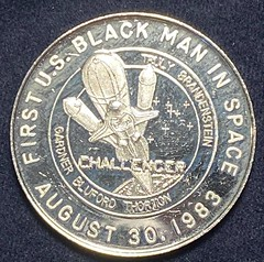 1983 First Black Man in Space medal