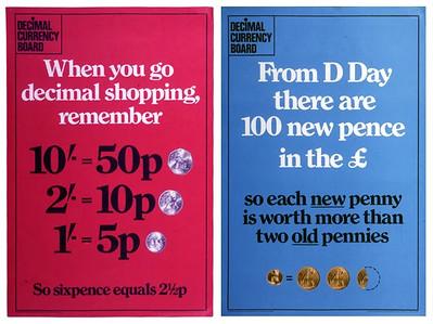 Decimal Currency Board pamphlets