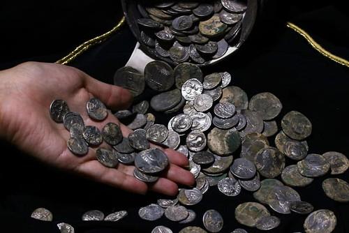 Emperor Augustus Era Coins Found in jug in Turkey