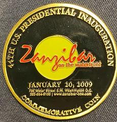 2009 Obama Zanzibar coin reverse