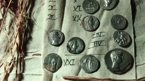Emperor Augustus Era Coins Found in Turkey