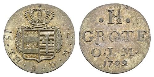 1792 Peter Friedrich Ludwig 1 1-2 Grote