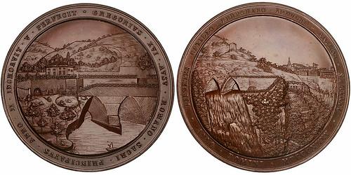 Italy Gregorian Tunnels Medal