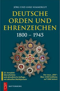 German orders and decorations book cover