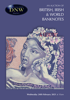 DNW World Banknote sale 2021-02 catalog cover