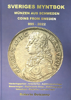 COINS FROM SWEDEN 995-2022 volume 2 cover