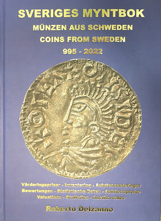 COINS FROM SWEDEN 995-2022 volume 1 cover