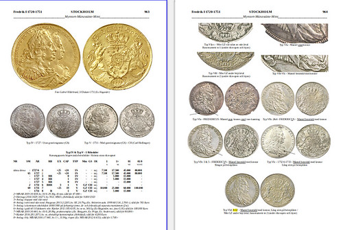 COINS FROM SWEDEN 995-2022 p963-4