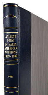 Ancient Coins in Early American Auctions Deluxe spine