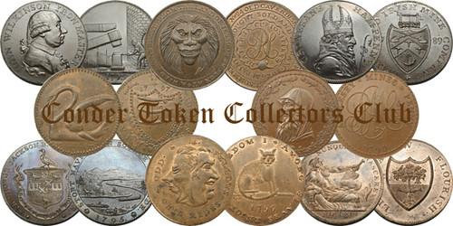 Conder Token Collector's Club logo banner
