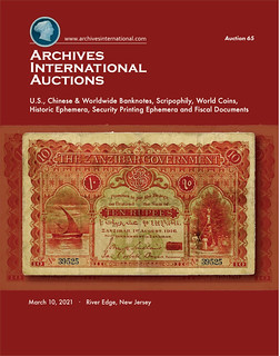 Archives International Sale 65 cover front